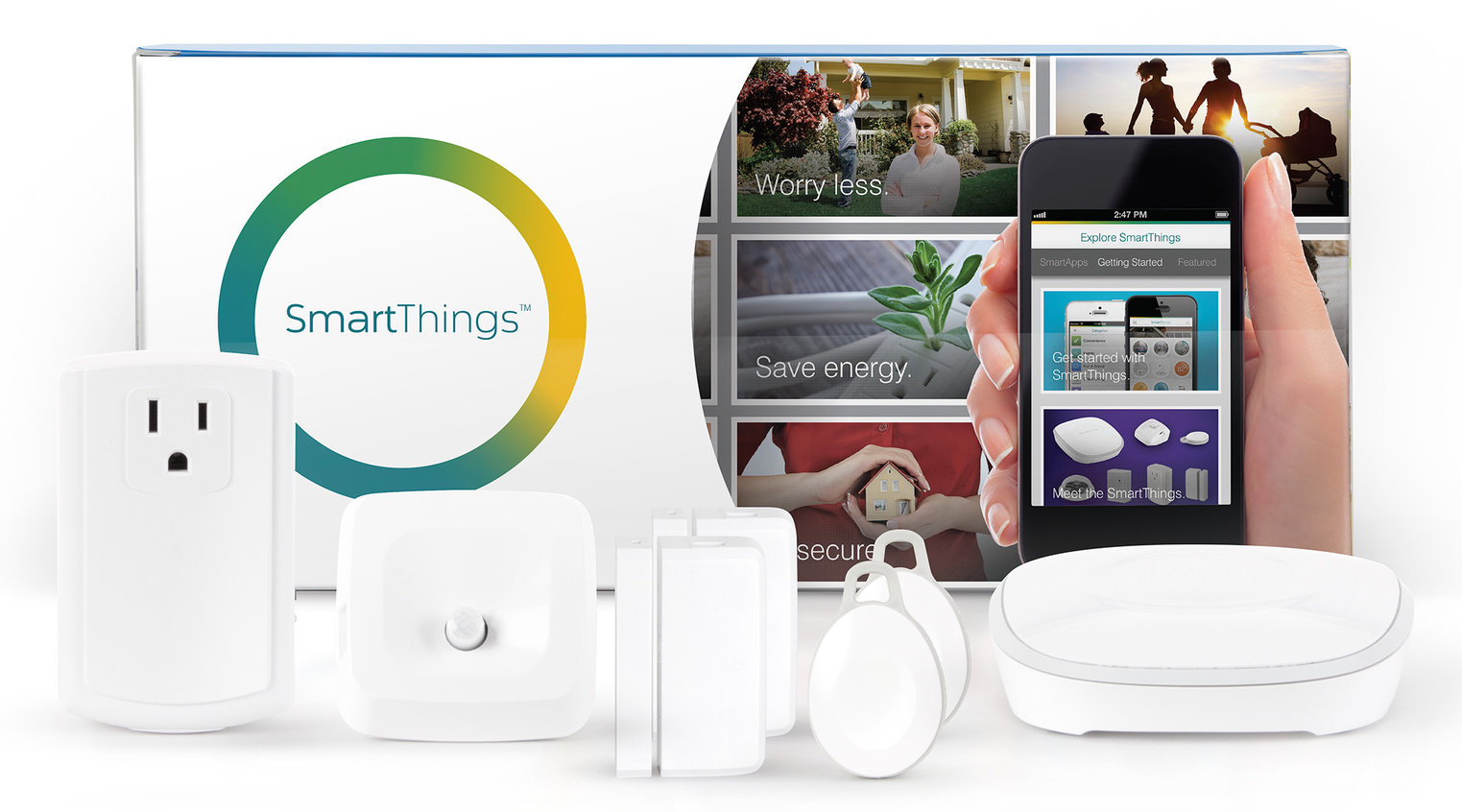 Works as a SmartThings hub to connect your devices wirelessly and make them work together. Control SmartThings, Samsung, and + compatible smart devices, like lights, cameras, and doorbells, all via the SmartThings app/5(4).