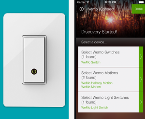 Belkin WeMo Light Switch SmartThings Integration
