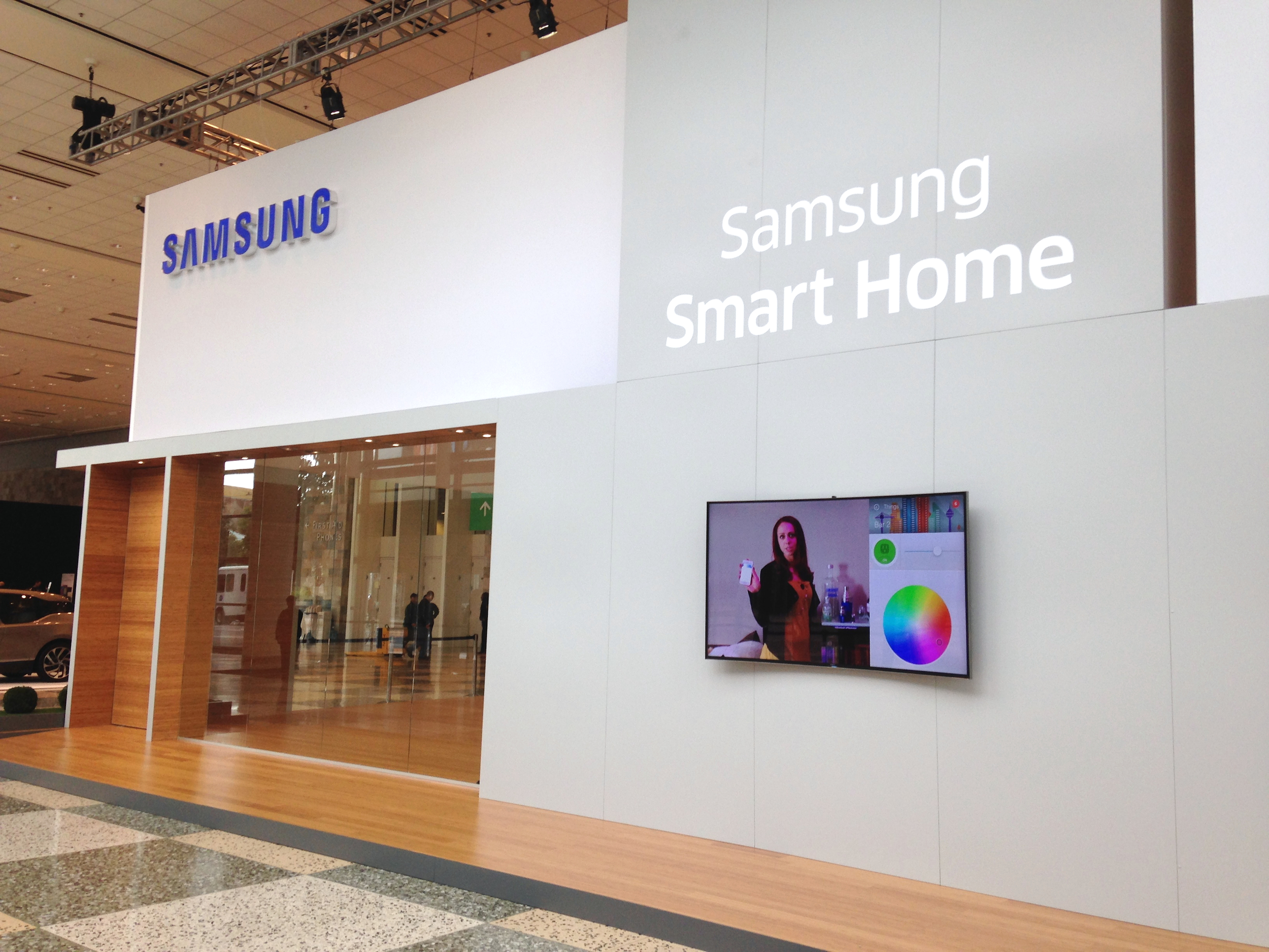 smartthings powers the samsung smart home smartthings. Black Bedroom Furniture Sets. Home Design Ideas