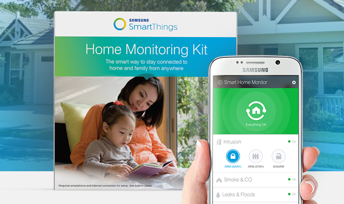 Introducing The Samsung Smartthings Home Monitoring Kit