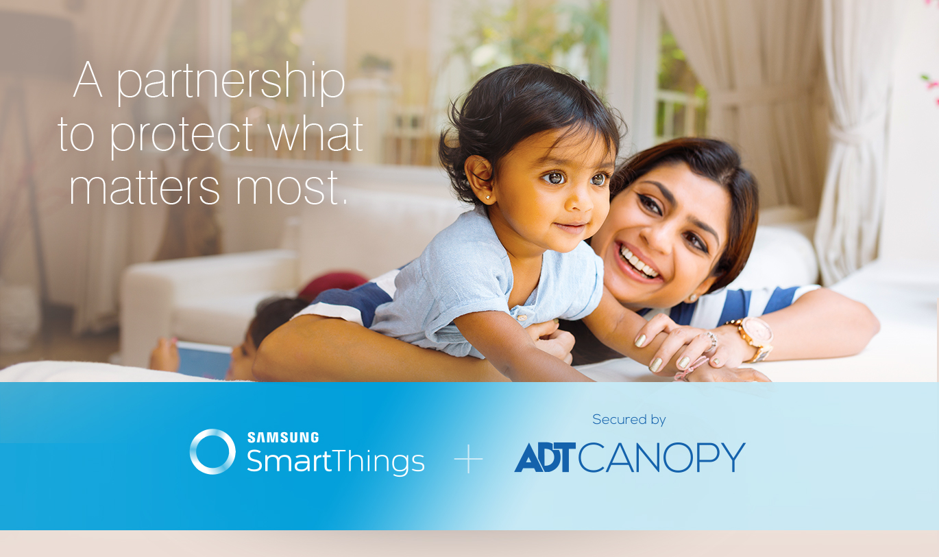 SmartThings + ADT Canopy  sc 1 st  SmartThings Community & New ADT partnership new touchscreen hub and devices 10/29/2017 ...