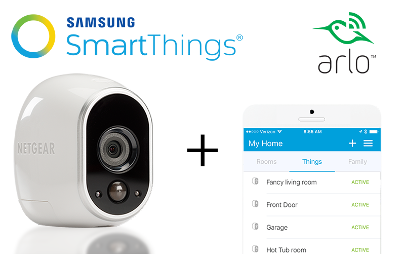 Welcome Home, Google & Arlo! | SmartThings