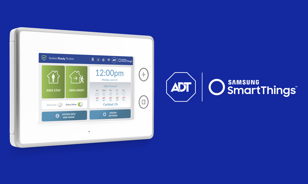 ADT + SmartThings
