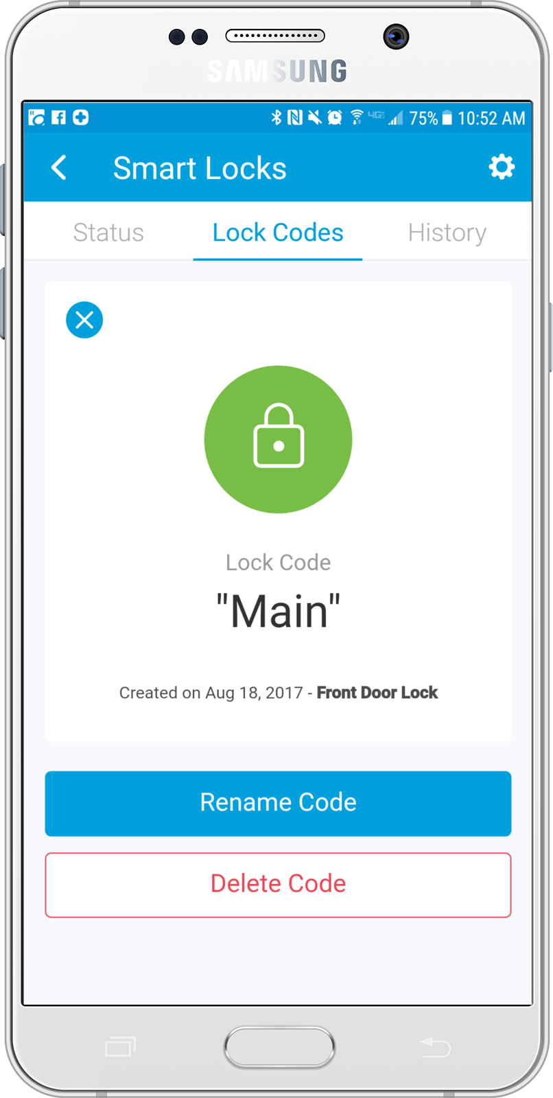 Smartthings Now Supports Lock Codes Smartthings