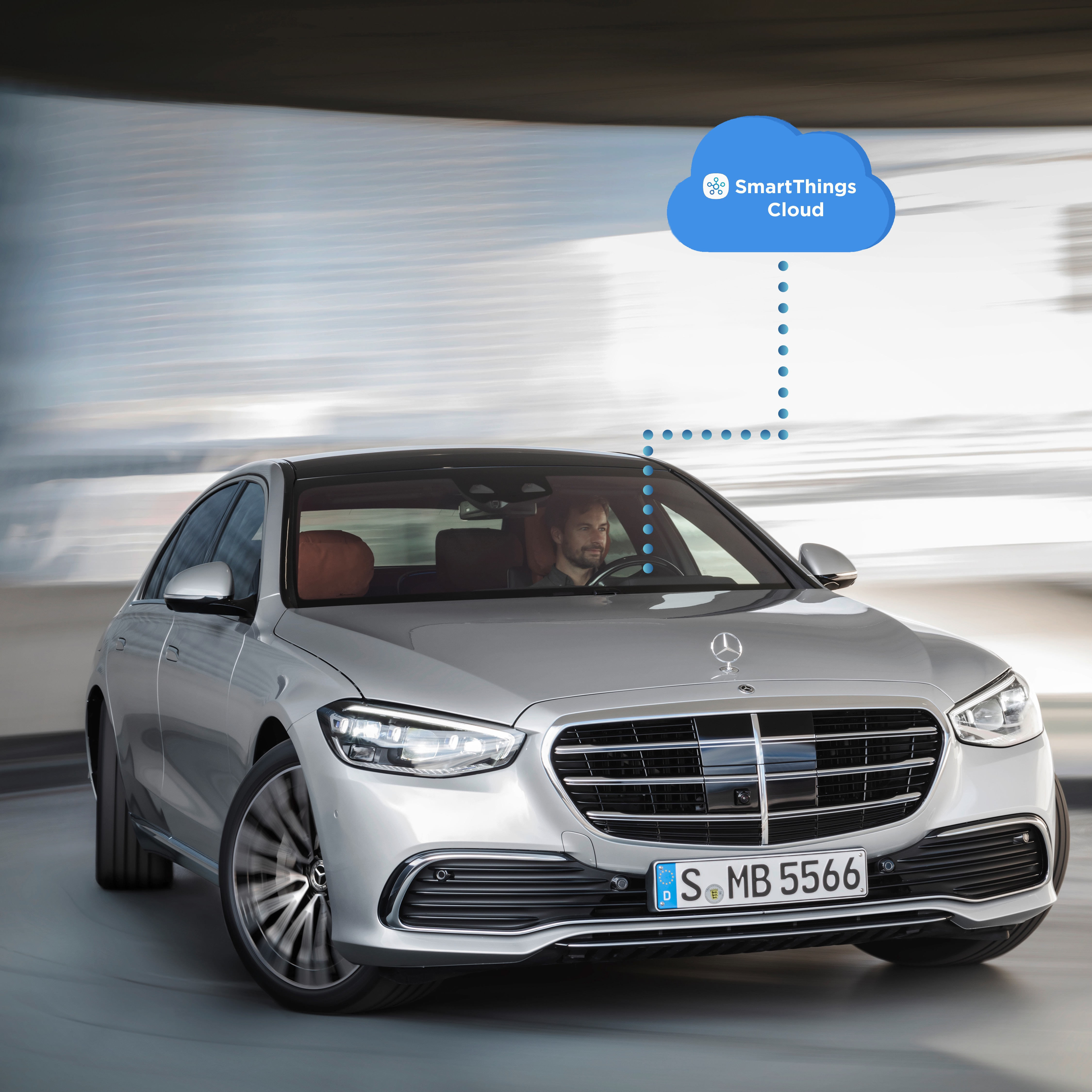 Mercedes-Benz and smarthings partnership announcement